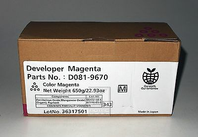 Ricoh Developer Magenta Aficio MP C 6501 / 7501 D081-9670