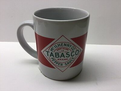 Tabasco Red Pepper Sauce Ceramic Coffee Mug Tea Cup Mcilhenny Co Collectible