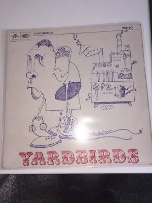 The Yardbirds LP Same Roger The Engineer