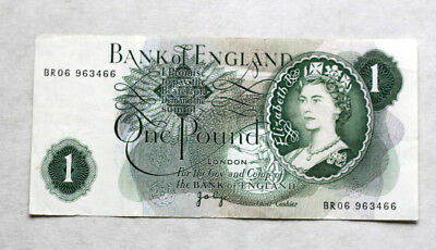 1 Pound, Bank of Great Britain, 1960.-78.