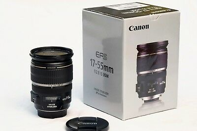 CANON EF-S 17-55mm f/2.8 IS USM - BELLISSIMO - PERFETTO  17-55 mm f: 2,8