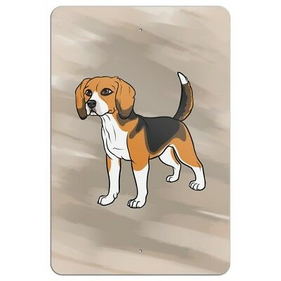 Beagle Pet Dog Home Business Office Sign