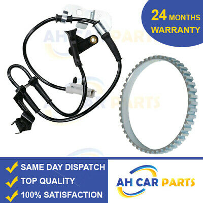 abs speed sensor + abs ring chrysler grand voyager (2000-2008) front left