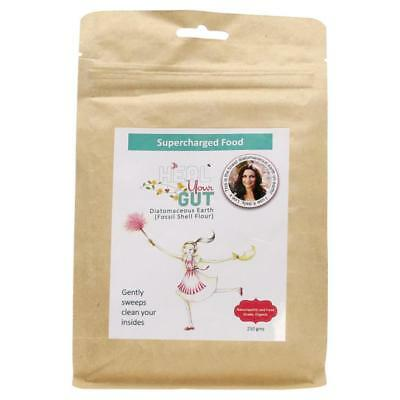 Supercharged Food Love Heal Your Gut Food Grade Diatomaceous Earth Powder 250g