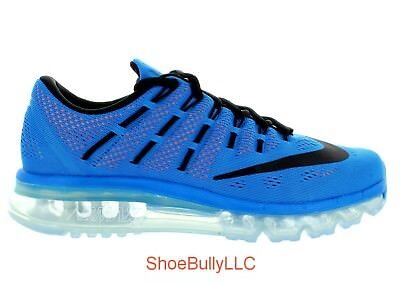 bcbc46b14cfd ... netherlands mens nike air max 2016 806771 408 photo blue black total  orange ds brand new