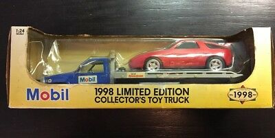 Boise - Mobil 1998 Limited Ed Collectors Toy Flat Bed Truck 1:24 Scale