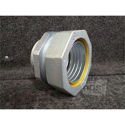 Crouse-Hinds LT300 3in Straight Male Connector, Iron, Liquid Tight