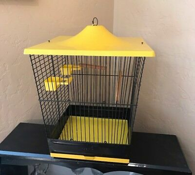 Vintage 1960's Pacific Birdcage with accessories