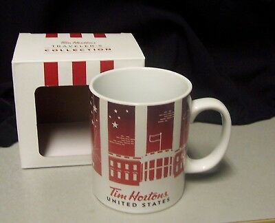 Tim Hortons UNITED STATES TRAVELER'S COLLECTION 2016 L/E Coffee Mug ....NIB