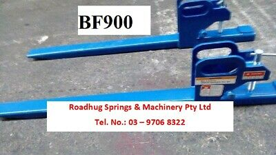 FORK EXTENSION – Front End Buck Loader Clamp On – 900 kgs  Part No.: BF900