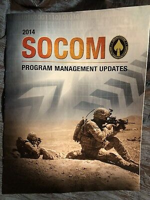 US Special Operations Command 2014 Program Guide W/Vehicles Tactical Gear SOCOM