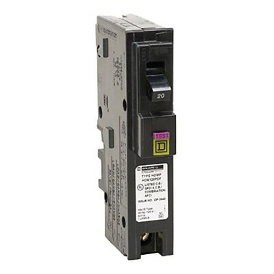 Square D by Schneider Electric HOM120PDFC Homeline Plug-On Neutral 20 Amp Dual ,