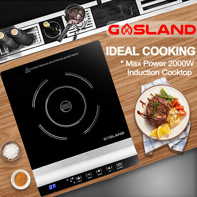 GASLAND chef Electric Induction Cooktop Portable Kitchen Cook Top Black