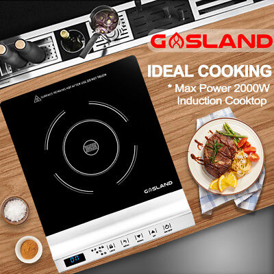GASLAND chef Electric Induction Cooktop Portable Kitchen Cook Top Silver