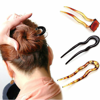 Women Magic Bending Clip Hair Stick Plastic Hairpin Clips Simple Pin Headwear