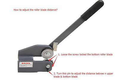 KAKAIND MMS-1 Multi-Purpose Bench Top Manual Shear, Sheet Metal Throatless Shear