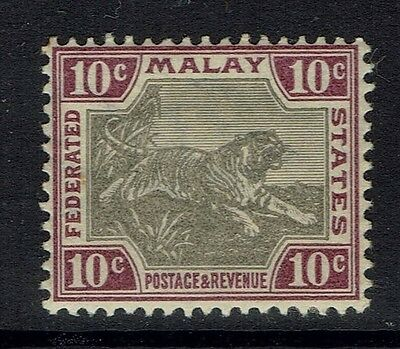 Malay Federated States SG# 20d, Mint Lightly Hinged, lt pencil note - Lot 050217