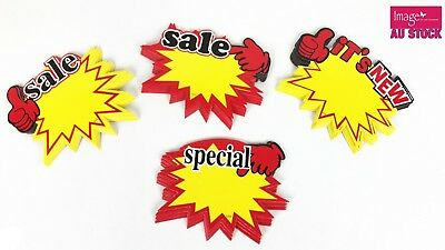 Supermarket Sales Sign Cardboard Advertising Sign Store Front Bubble Signs