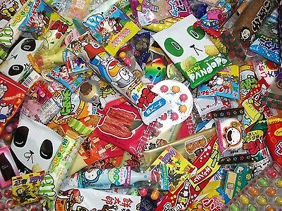 JAPANESE CANDY SET Gummy Ramen Chocolate Sweets Gum Snack 100pcs