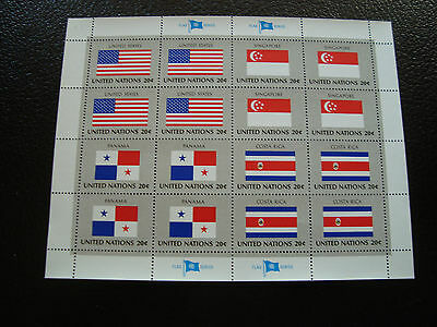 united nations (new york) - stamp yt n° 353 A 356 x4 n (Z10) united nations (A