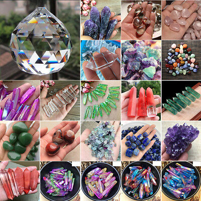 100g Colorful Natural Quartz Crystal Assorted Bulk Tumbled Gem Stone Healing
