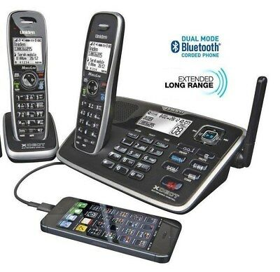 Uniden XDECT 8155+1 Digital Cordless Phone Twin handset Pack Bluetooth System