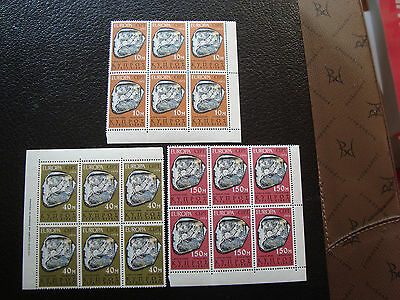 cyprus - stamp yvert and tellier N° 401 a 403 x6 n (europa) (Z0) stamp cyprus