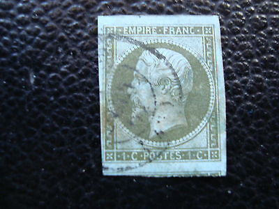 FRANCE - stamp yvert and tellier n° 11 obl (2eme choice thinned (A20) french