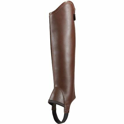 Ariat Concord Half Unisex Footwear Chaps - Light Brown All Sizes