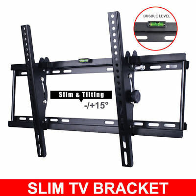 "Swivel Tilt TV Wall Mount Bracket 30 32 37 40 42 46 48 50 55 60"" LCD LED Plasma"