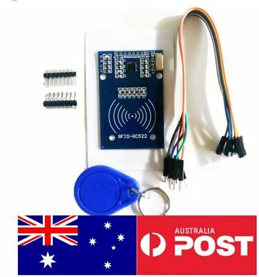 RFID MODULE FOR arduino NFC RC522 MFRC-522 kit RFID tag Card dupont wires  wire