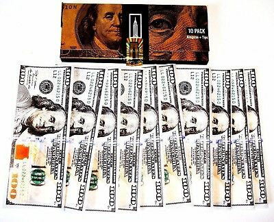 Empire Rolling Papers 1 Wallet of 10 $100 Bill Rolling Papers Buy 2 Get 1 Free