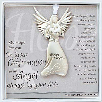 The Grandparent Gift Co. Boxed Angel with Sentiment: Confirmation Gift
