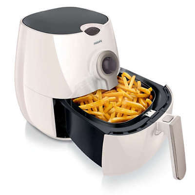 PHILIPS Viva Collection Airfryer HD9220/50 Fritteuse weiß Heißluftfritteuse
