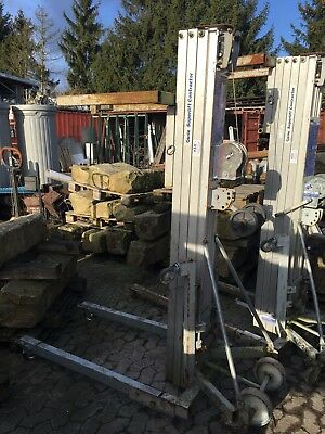 Genie SLC18 Materiallift Kurbellift Contractor gebraucht