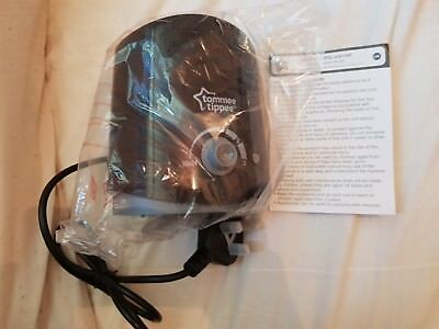 Black Tommee Tippee Bottle warmer. Never used