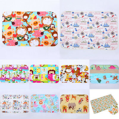 Baby Mat Infant Bedding Cute Cover Diaper Changing Pad Kids Nappy Waterproof