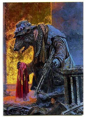 Keith Parkinson - Metallic Storm Card MS3 Rat Bag-Lady - FPG - 1994 - Fantasy