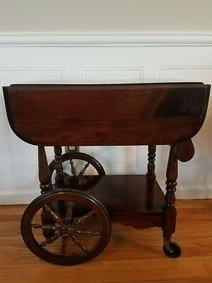 Antique wood wooden Tea Cart. Excellent condition