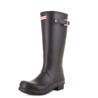 Mens Hunter Original Tall Black Wellies Wellington Boots Size