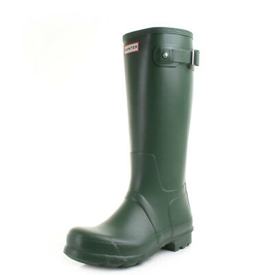 Mens Hunter Original Tall Dark Green Waterproof Wellington Boots Wellies Size