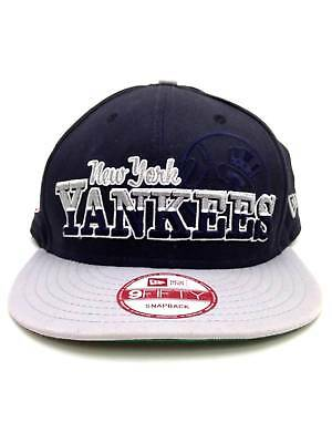 766989892d1  75 New Era New York Yankees Blue Gray 950 Baseball Cap Flat Brim Snapback  Hat