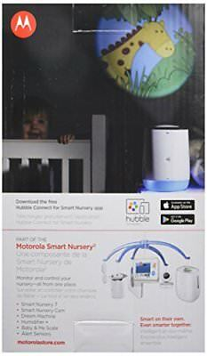 Motorola Smart Nursery Dream Machine Connected Sound and Light Projector with...