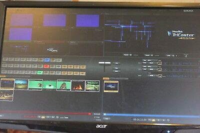 NewTek TCXD40 TriCaster Production Switcher Audio & Video Processing HDMI / VGA