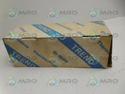Trend Instruments 30 Bimetal Thermometer 750F *new In Box*