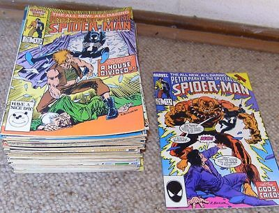 57 x Peter Parker THE SPECTACULAR SPIDER-MAN - 111 113 114...197 198 199 - US