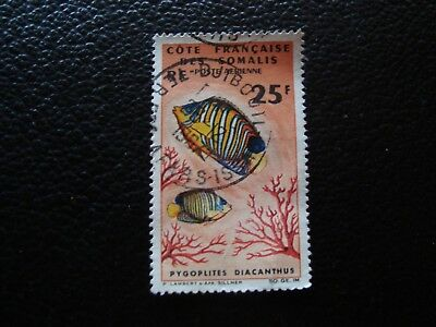 VALUE FRANCAISE SOMALIS - stamp yvert and tellier air n° 50 obl (A6)stamp