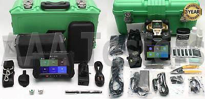 INNO Mini 2 SM Fiber OTDR & View 7 SM MM Core Alignment Fiber Fusion Splicer