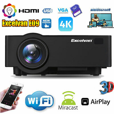 """60/72/84/100/120/150"""" 16:9 Projector Projection Screen Home Theater Movie Screen"""