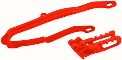 UFO Chain Guide/Slider Kit Red Fits Honda CRF450R 2009-2012